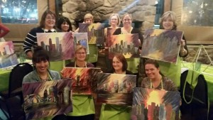 Pittsburgh YNP Paint Nite