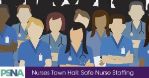 Town Hall: Safe Staffing @ Hollidaysburg Area Senior High   Hollidaysburg   Pennsylvania   United States